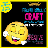 Proud Emoji Emoticon Craft