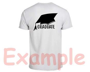Proud Graduate Silhouette SVG Hat grad cap Kindergarten high School 822S
