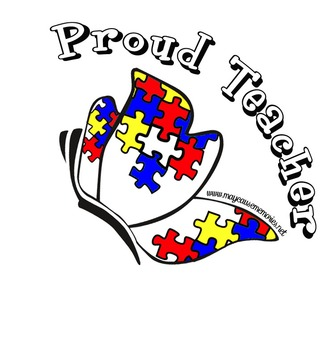 "Proud Teacher! Printable ""Proud"" Poster - Disability Aware Butterfly!"