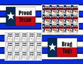 Proud Texan Brag Tags