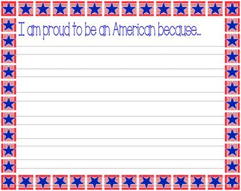 Essay about being proud of america