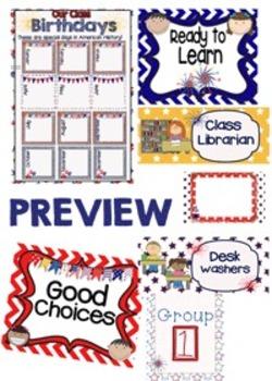 Proud To Be An American MEGA Classroom Kit