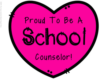 Proud to Be A School Counselor Freebie