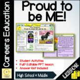 Proud to be me Lesson