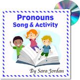 Prounouns - MP3 Song w/ Lyrics & Activity
