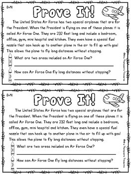 Prove It - August Daily Text Evidence Practice