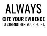 Prove It! Bulletin Board Text