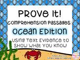 Prove It: Comprehension Passages Ocean Edition