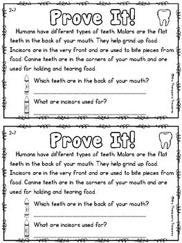 Prove It - February Daily Text Evidence Practice