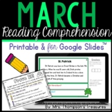 Prove It - March Reading Comprehension
