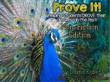 Prove It! Non-Fiction Edition {36 Passages - Animals} - Color & B/W