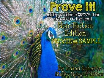 Prove It! Non-Fiction Edition FREEBIE SAMPLE