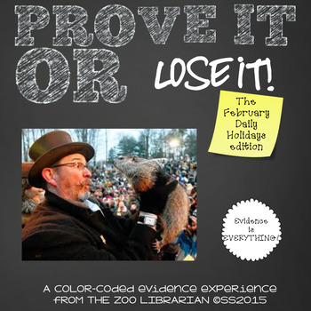 Prove It Or Lose It! (February Daily Holidays) finding tex