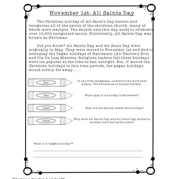 Finding Proof-Text Evidence-Making Inferences-Context Clues (NOVEMBER DAILIES)