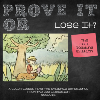 Finding Proof-Text Evidence-Making Inferences-Context Clues (AUTUMN READING)