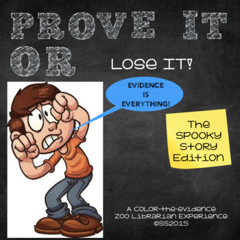 Prove It Or Lose It! (The SPOOKY STORY Edition) finding te