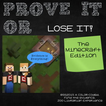Finding Proof-Text Evidence-Making Inferences-Context Clues (MINECRAFT EDITION)