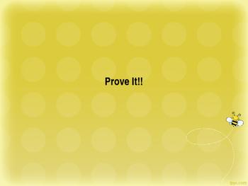 Prove It! Persuasive Writing and Debating PPT