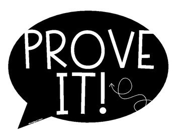 Prove It! Sign FREEBIE
