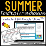 Prove It - Summer Daily Text Evidence Practice