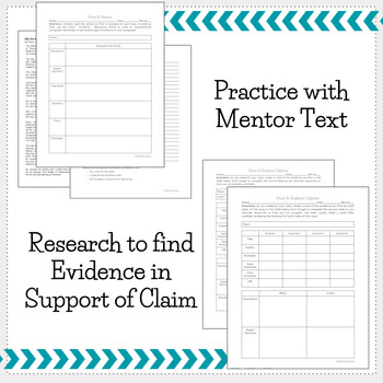 Prove It! Teach Students to use Evidence to Support Claims