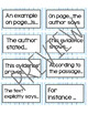 Prove It! - Text Evidence Visual Display