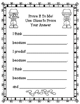 Prove It To Me!  Freebie