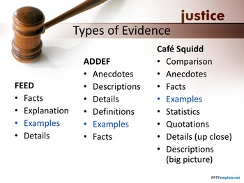 Prove It!  Practice Providing Evidence