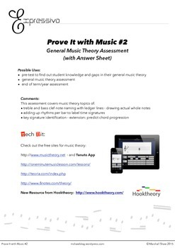 Prove It with Music #2