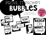 Prove it Prompt Bubbles