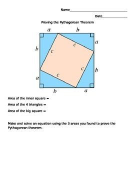 Prove the Pythagorean Theorem