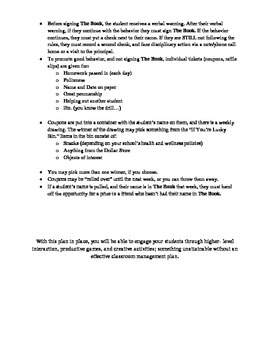 Proven Classroom Management Rules