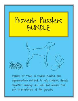 Proverb Puzzler Bundle