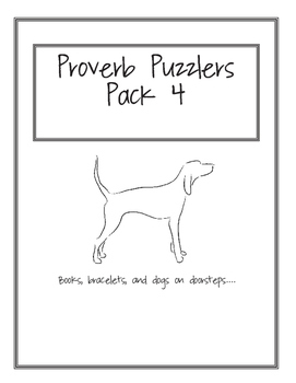 Proverb Puzzler Pack 4
