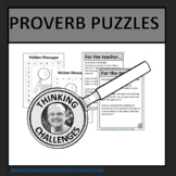 Proverb Puzzles
