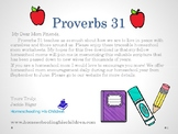 Proverbs 31 Homeschool Mom Encouragement