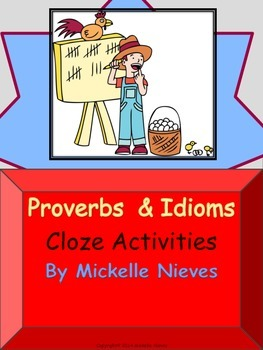 Proverbs & Idioms: Cloze Activities