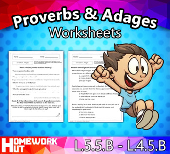 Proverbs and Adages Worksheets