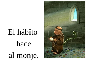 Proverbs in Spanish Posters