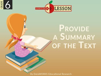 Provide a Summary of the Text