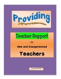 Providing Teacher Support