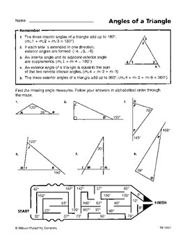 Proving Triangle Theorems (CCSS HSG-CO.C.10)