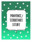 Province/Territory Study
