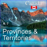 Canada Provinces and Territories (K-7)