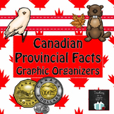 Provincial Facts Graphic Organizers
