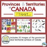 Provincial and Territorial Symbols of Canada - Clip Art