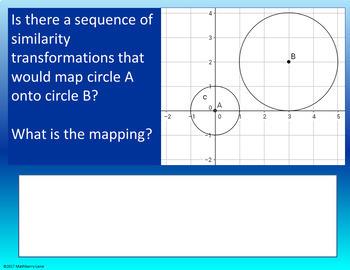 Proving Circles are Similar Digital Lesson Plan - Google Slides