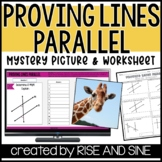Proving Lines Parallel Mystery Picture