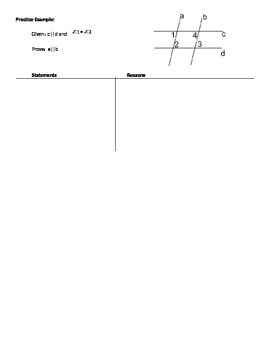 Proving Lines Parallel Notes