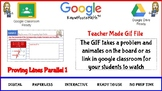 Proving Lines Parallel Part 1 Teacher Made Gif File